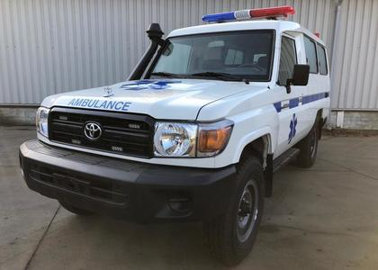 Toyota Land Cruiser HZJ 78 4.2D Ambulance