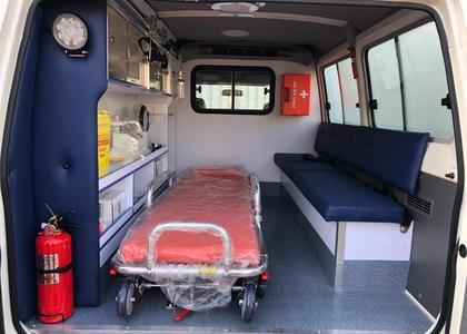 Toyota Land Cruiser HZJ 78 4.2D Ambulance